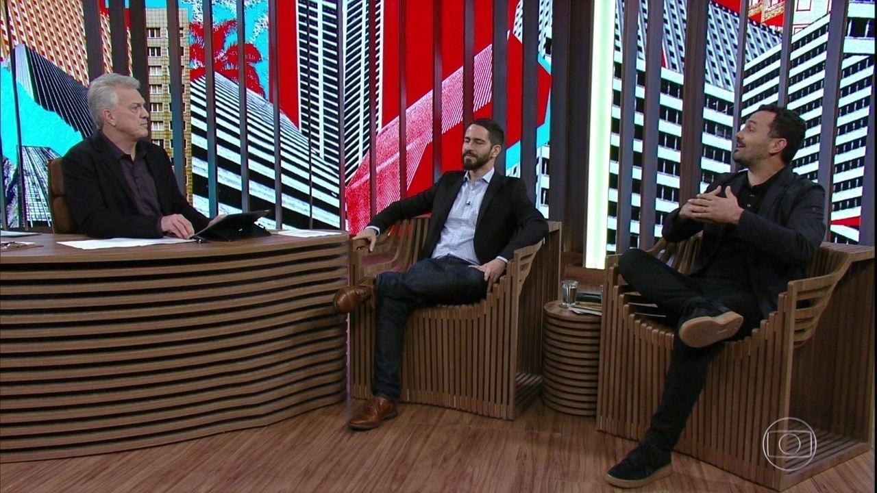 Bial recebe Ronaldo Lemos e Alê Youssef para um debate sobre democracia e tecnologia