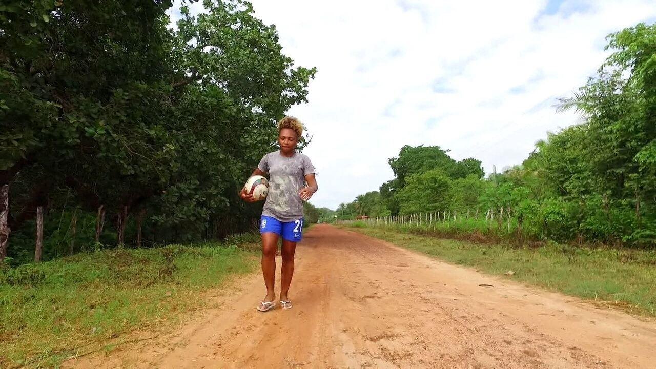 Campeã Sul-Americana sub-20 é a primeira mulher a ter um contrato profissional no Piauí