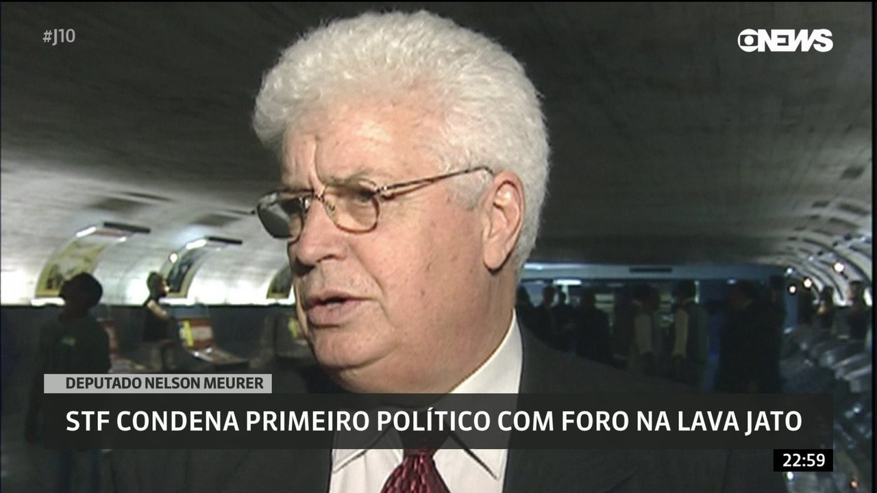STF condena primeiro político com foro na Lava-Jato