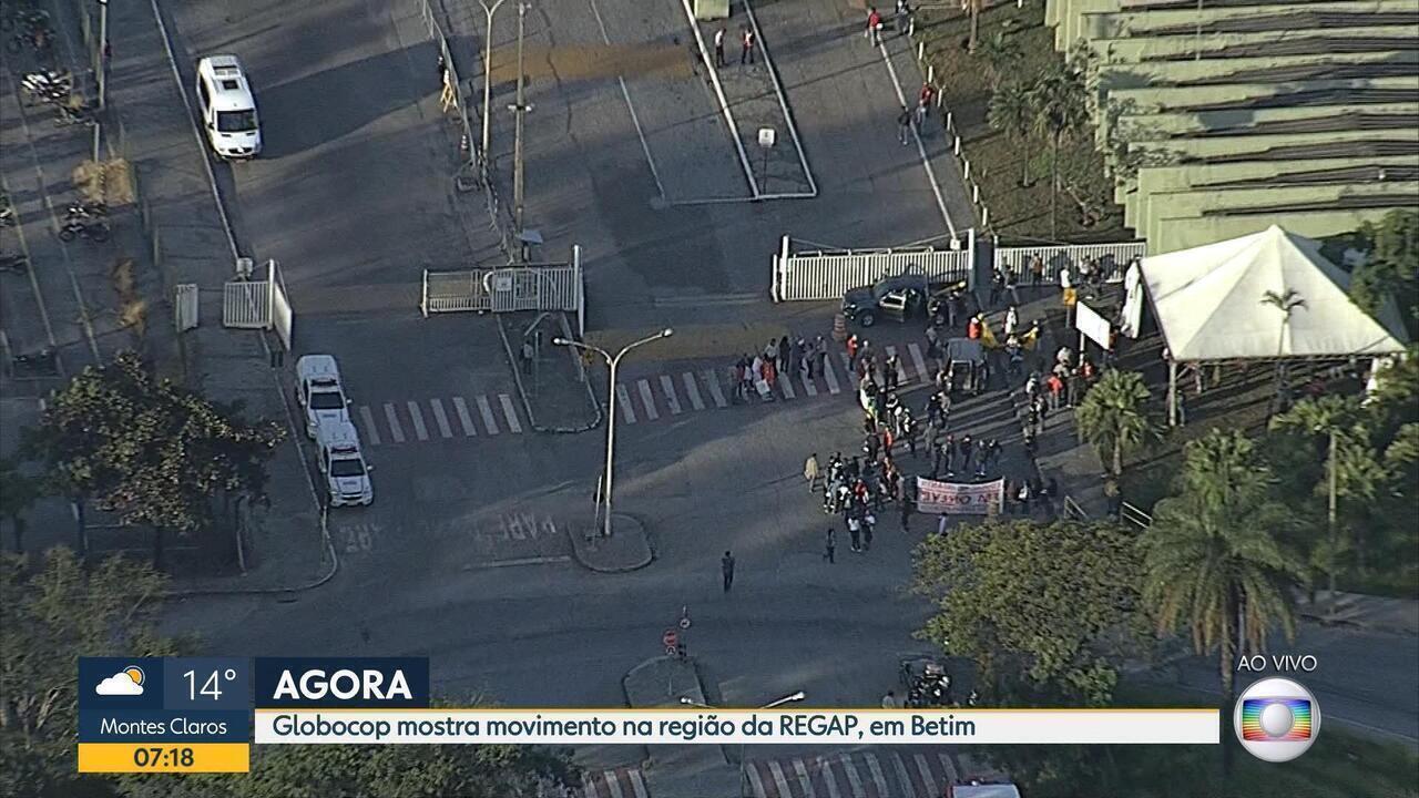Petroleiros protestam contra alta do combustível e presidência da Petrobras
