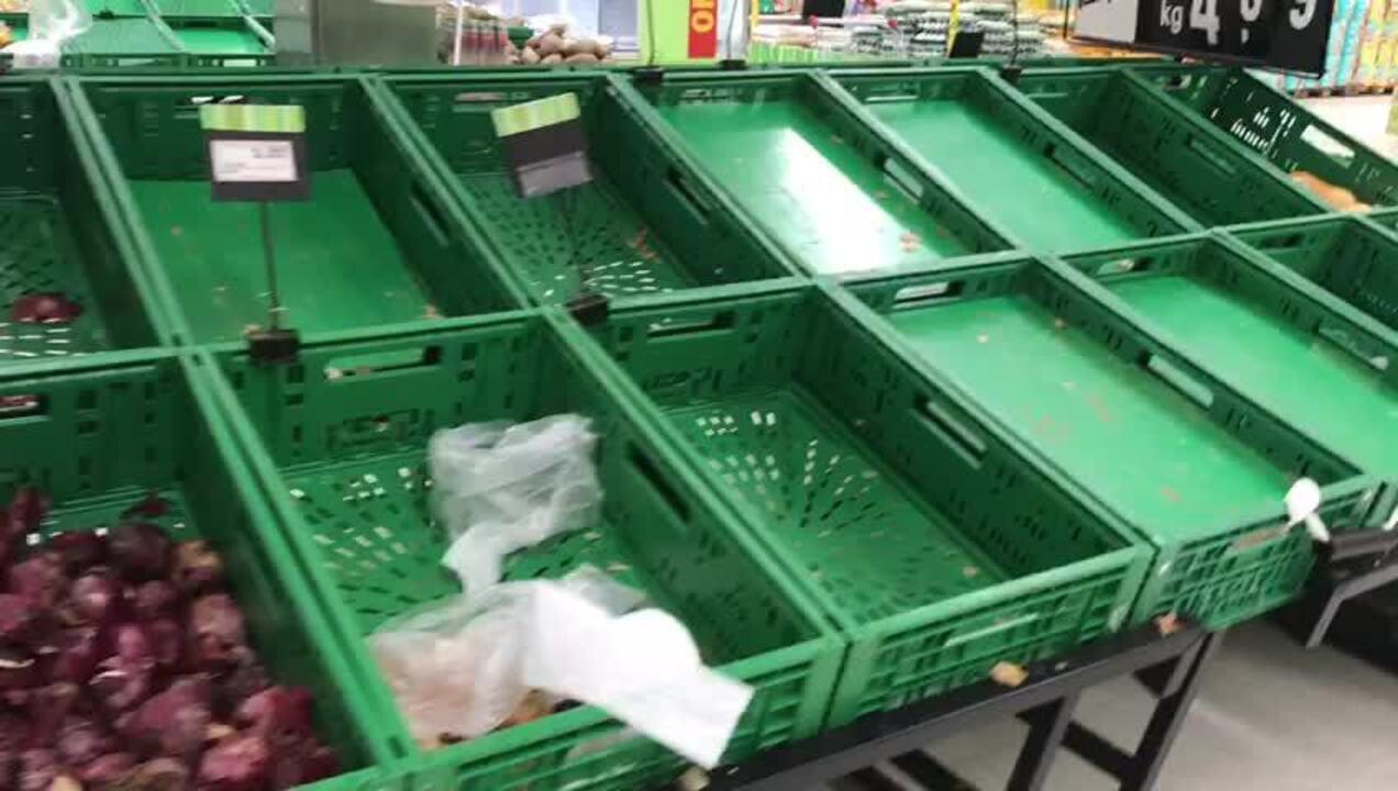 Supermercados estão desabastecidos em Maceió