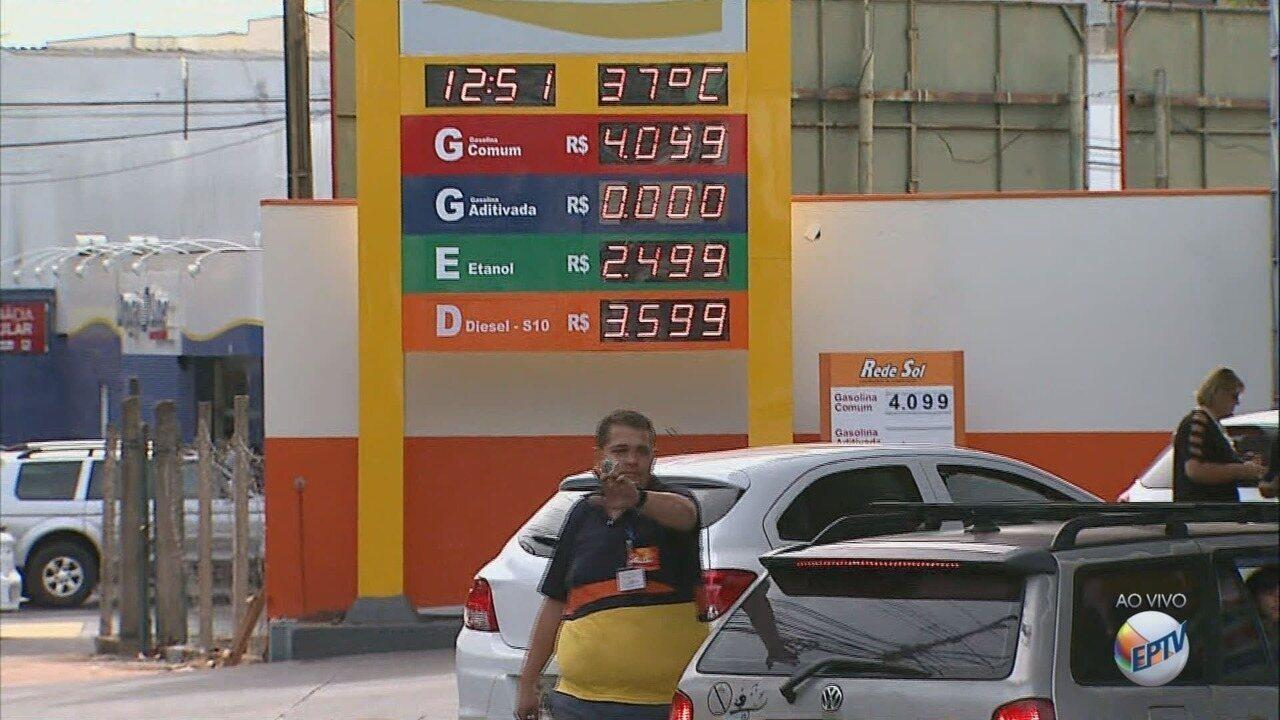 Postos de combustíveis voltam a receber combustíveis em Ribeirão Preto