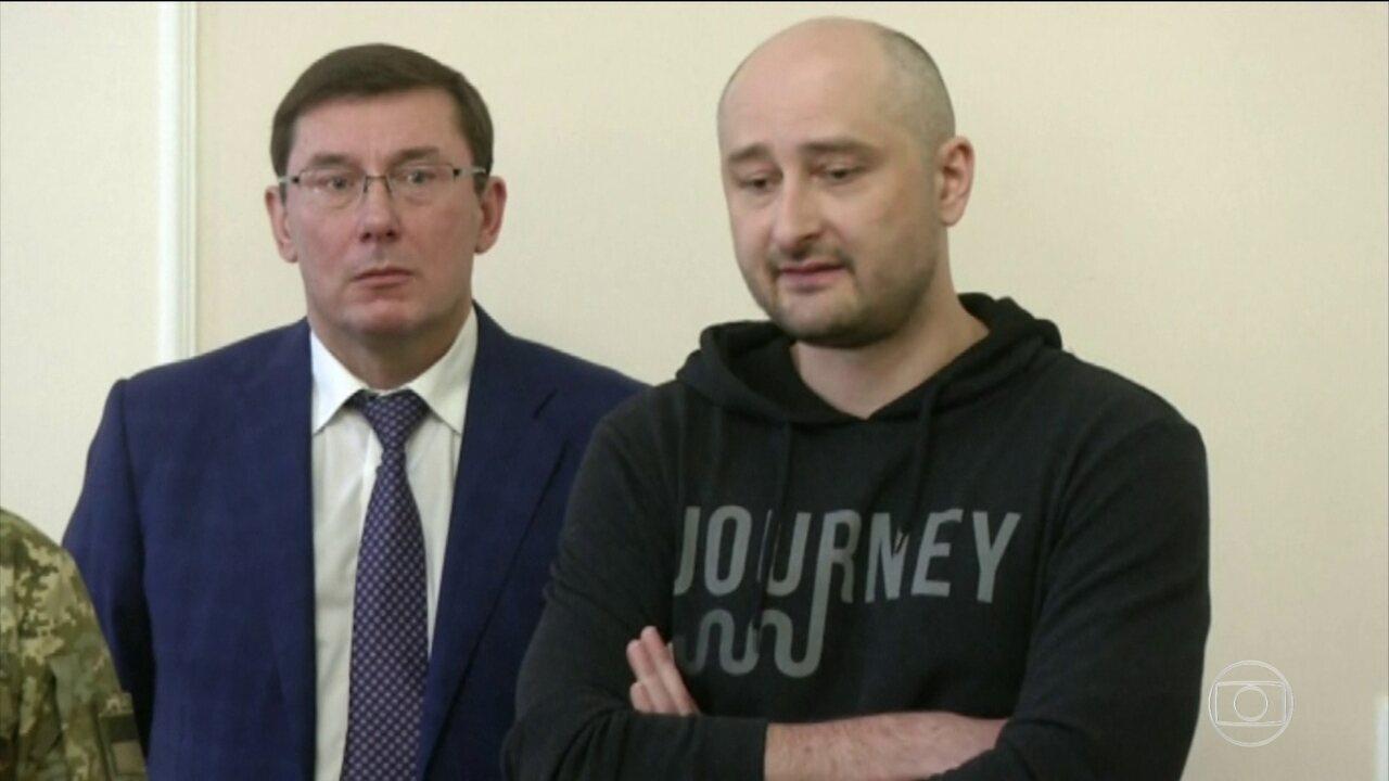 Jornalista russo, dado como morto, está vivo