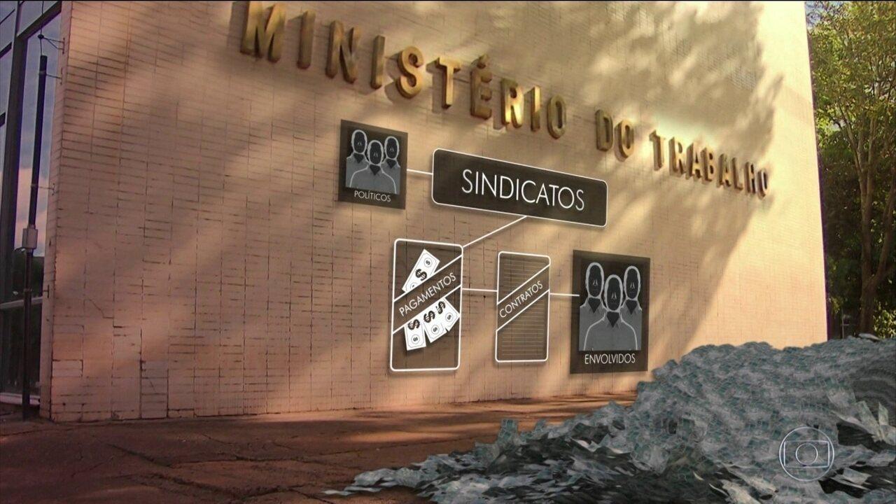 PF investiga corrupção na concessão de registros sindicais