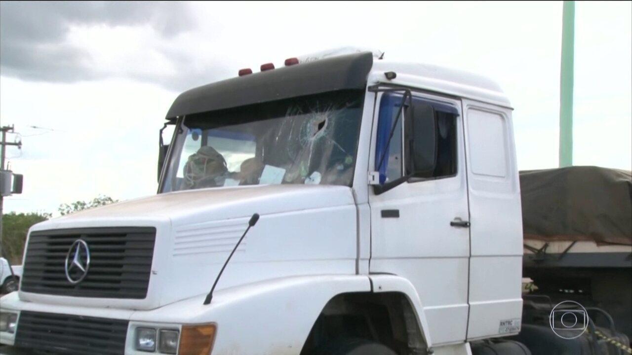 Caminhoneiro morre após ser atingido por uma pedra em Rondônia