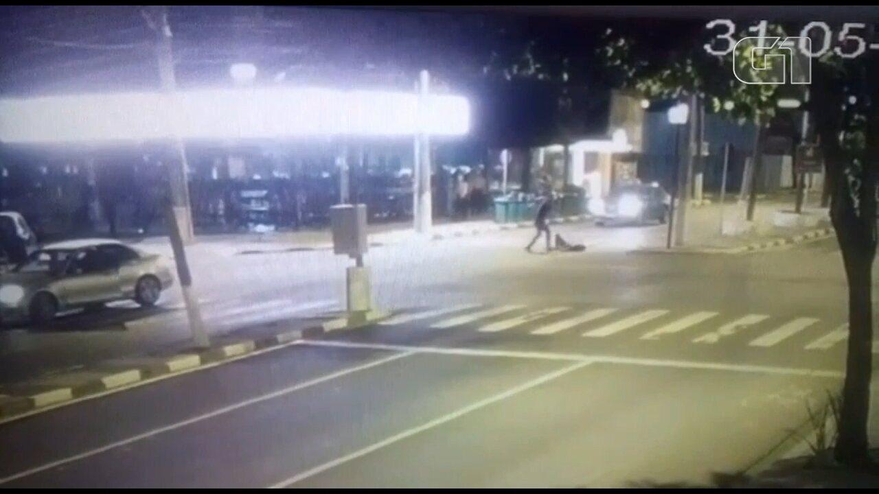 Rapaz é atropelado por motorista bêbado e agredido em Foz do Iguaçu