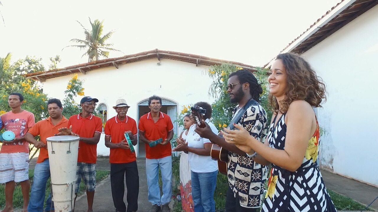 Comunidade de Tabocal preserva a tradição do samba do Recôncavo