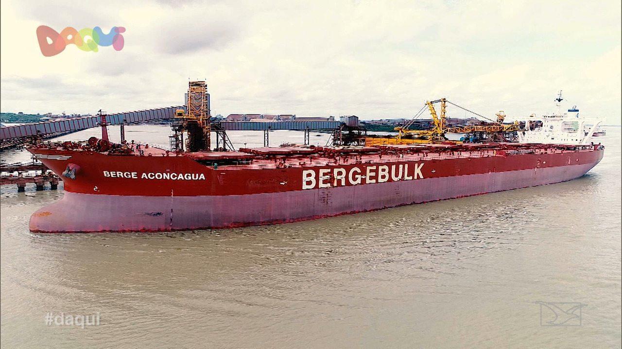 Daqui mostra a rotina de um dos maiores navios do mundo