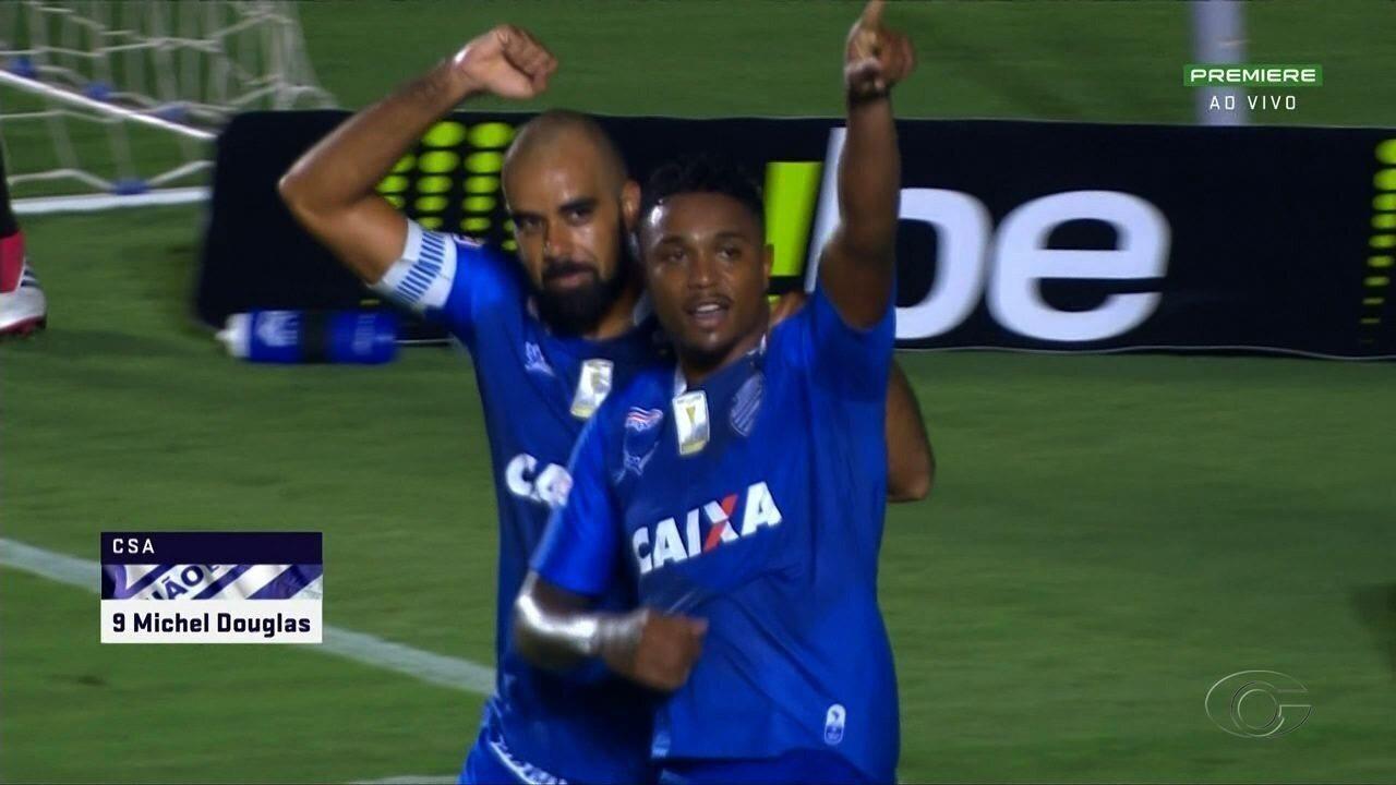 Os melhores momento de Vila Nova 0 x 1 CSA