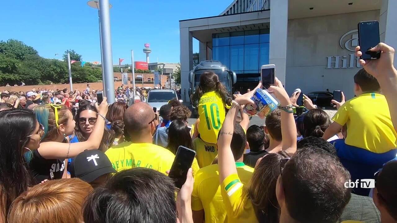 Confira bastidores da vitória do Brasil sobre a Croácia