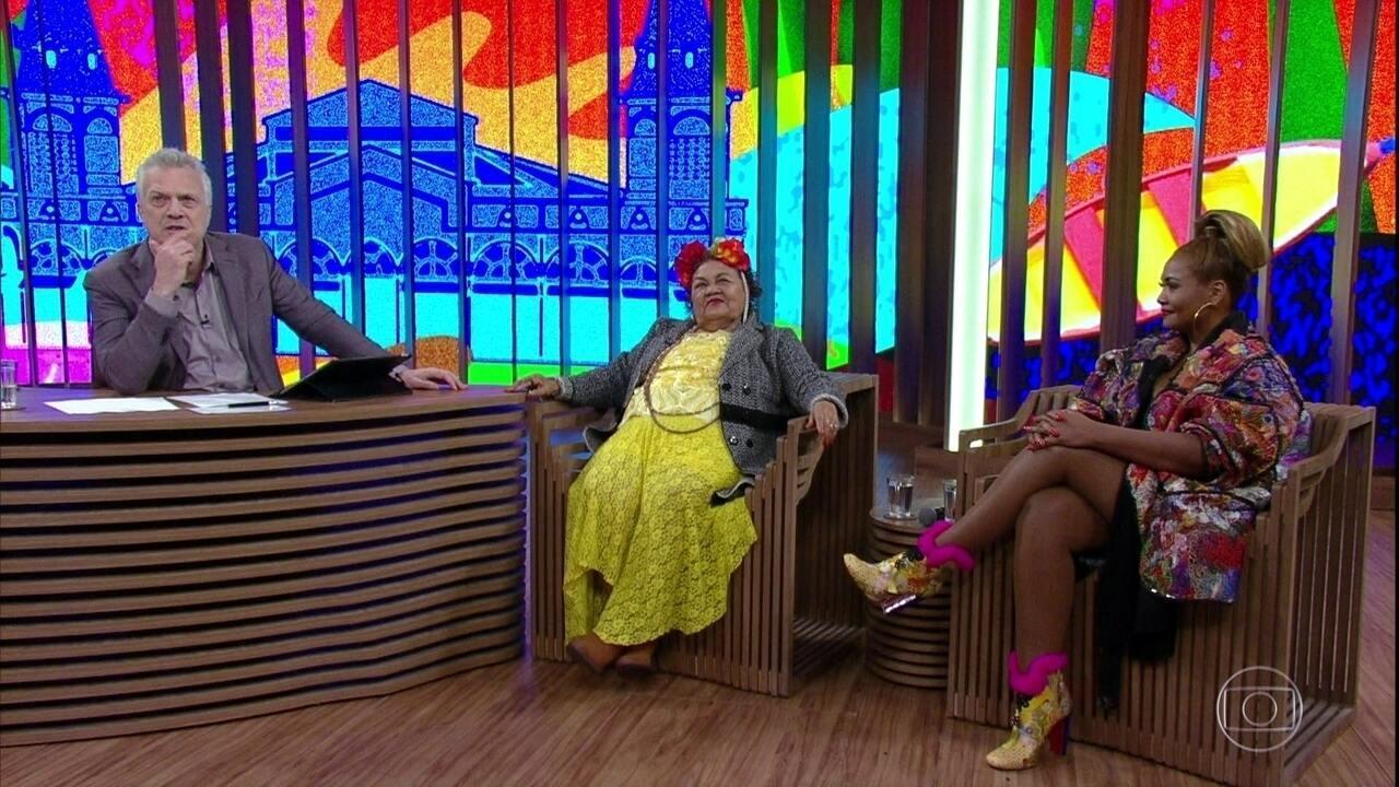 Gaby Amarantos falou sobre a importância da internet para a música paraense