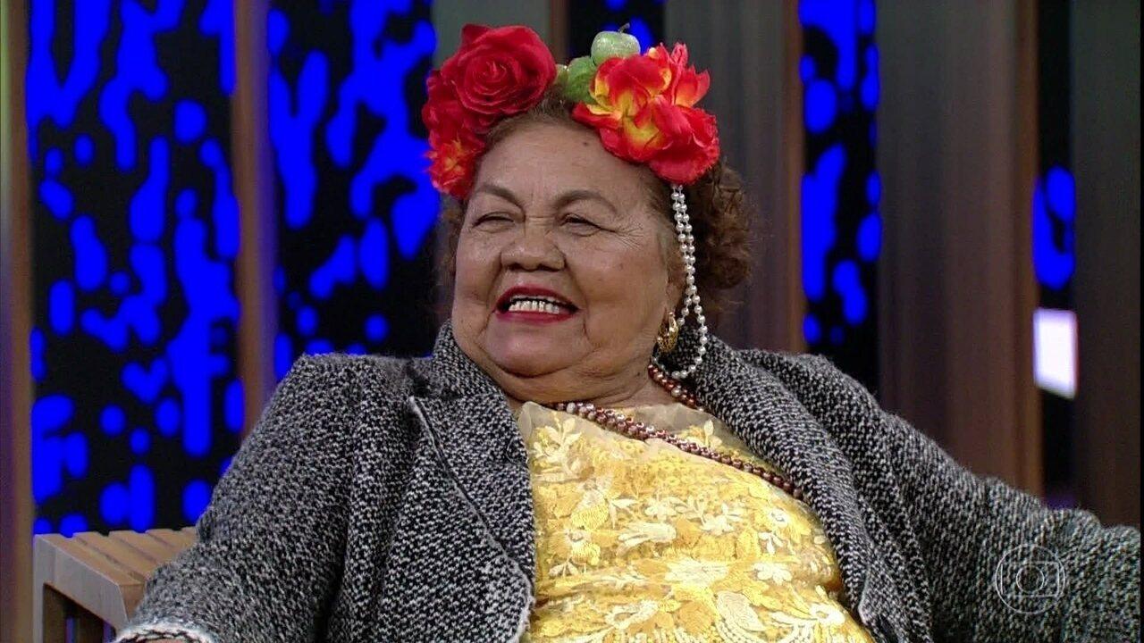 Dona Onete fala sobre suas próximas viagens
