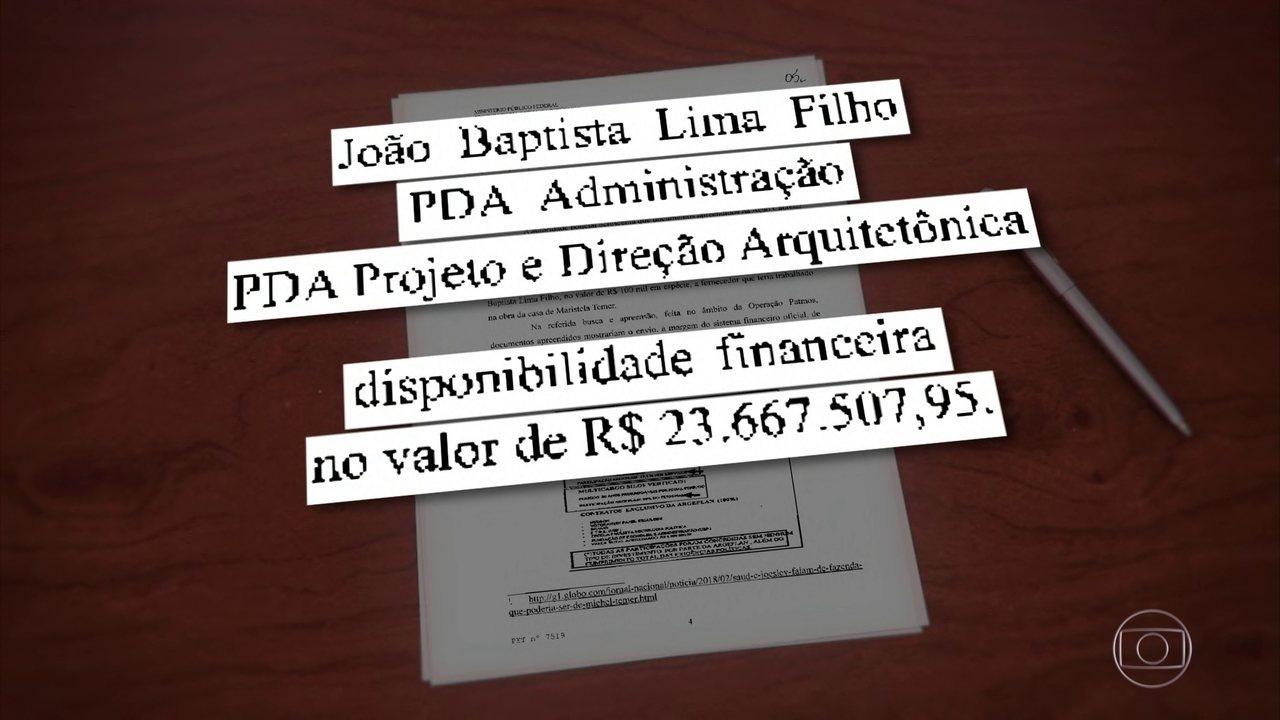 PF investiga elo de amigo de Temer com construtora e saldo de R$ 23 milhões