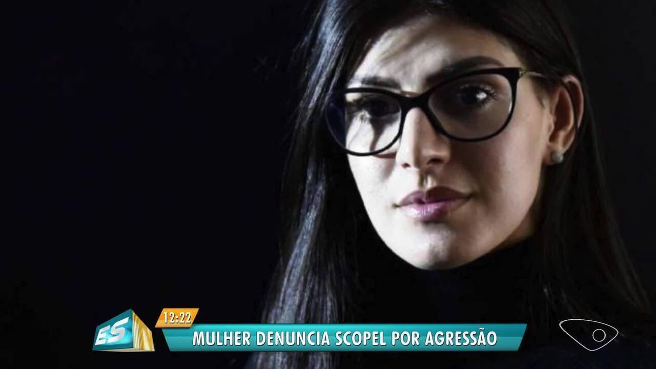 Cantora denuncia agressão de marido, que é empresário no ES