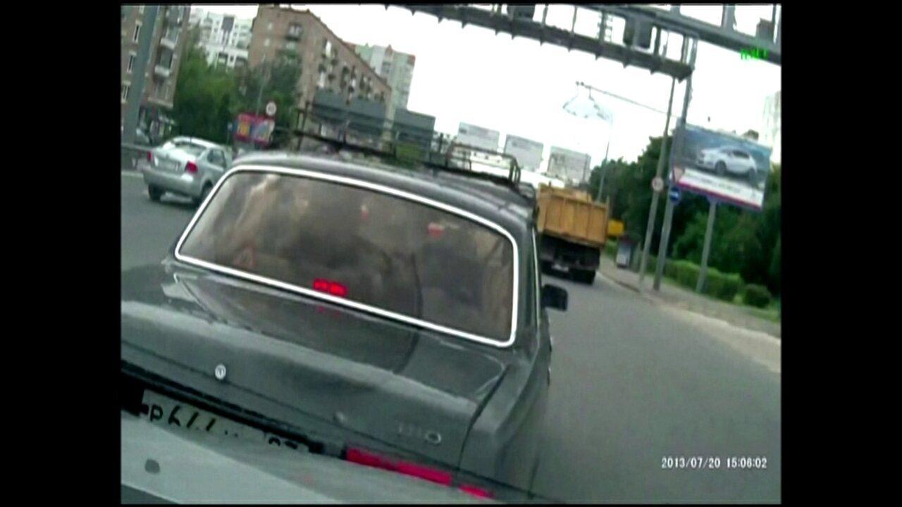 Motoristas usam câmeras nos carros para flagrar acidentes de trânsito forjados na Rússia