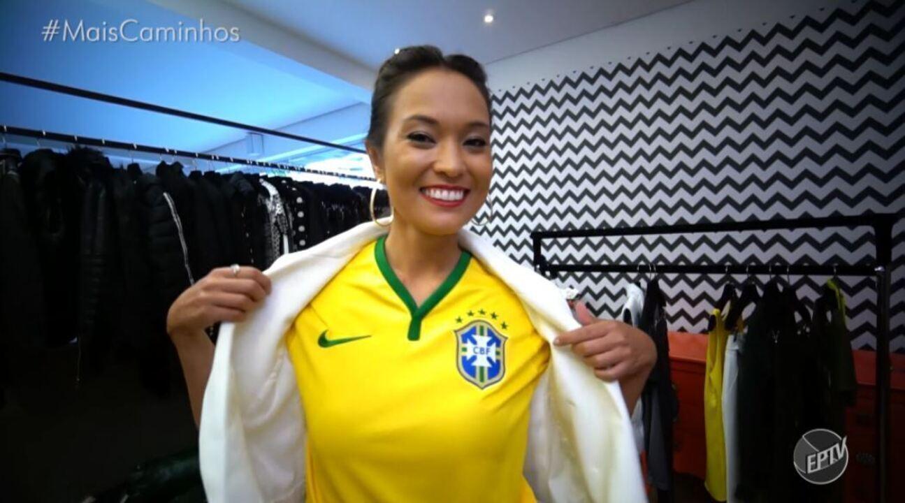 Cris Ikeda traz dicas de looks para a Copa do Mundo.