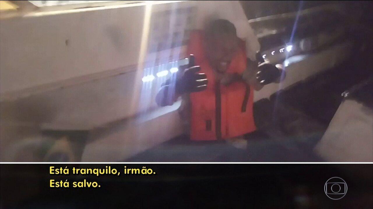 Dois barcos naufragam no Rio e cinco pessoas morrem; ainda há desaparecidos