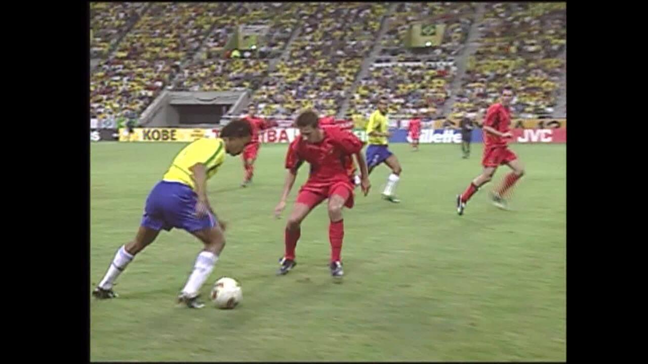 COPA 2002 - Gols de Brasil 2 x 0 Bélgica