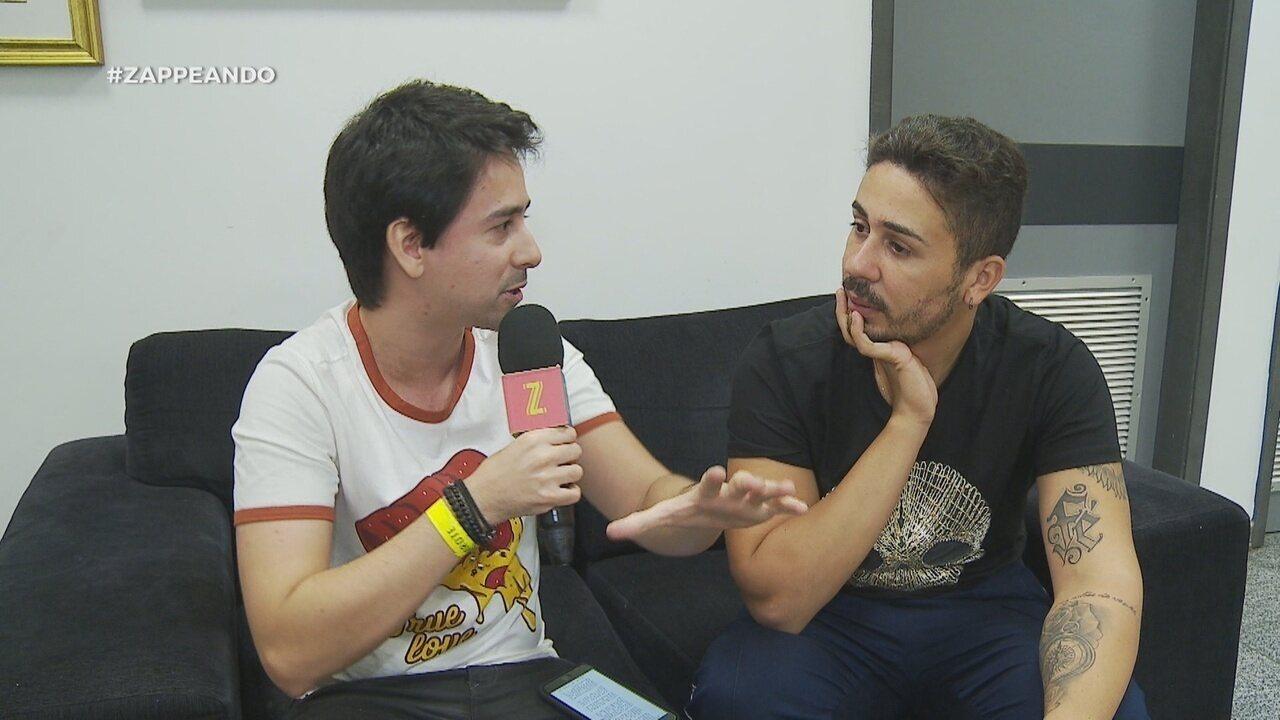 Parte 3: No #Zapp, Andy Fonseca conversa com humorista Carlinhos Maia
