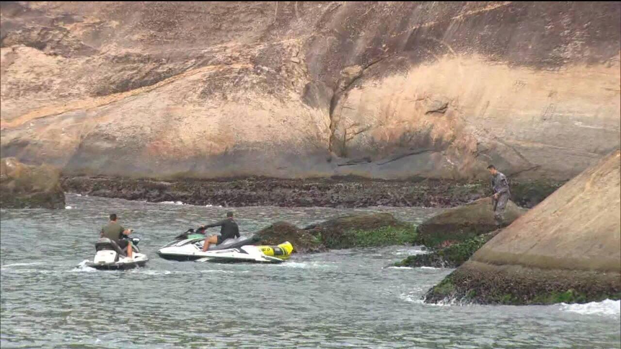 Seis corpos são encontrados na Praia Vermelha, no Rio