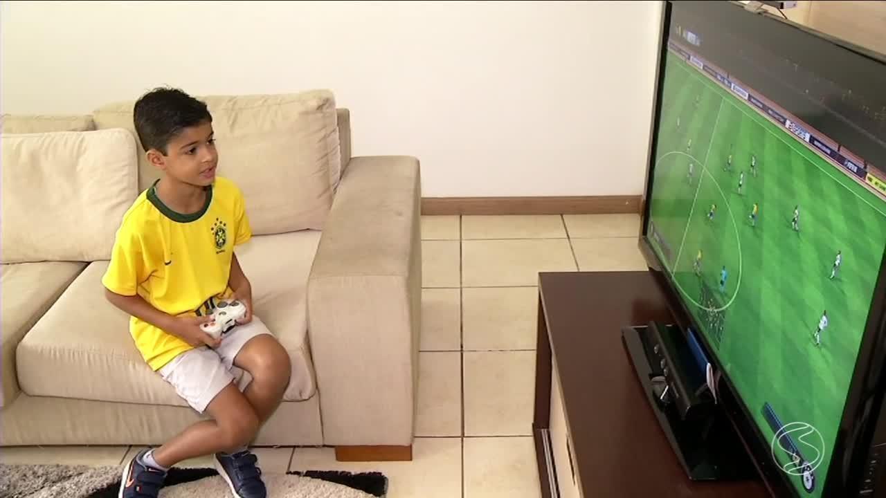 Menino de Barra Mansa é sorteado para acompanhar jogadores da Seleção na Copa 2018