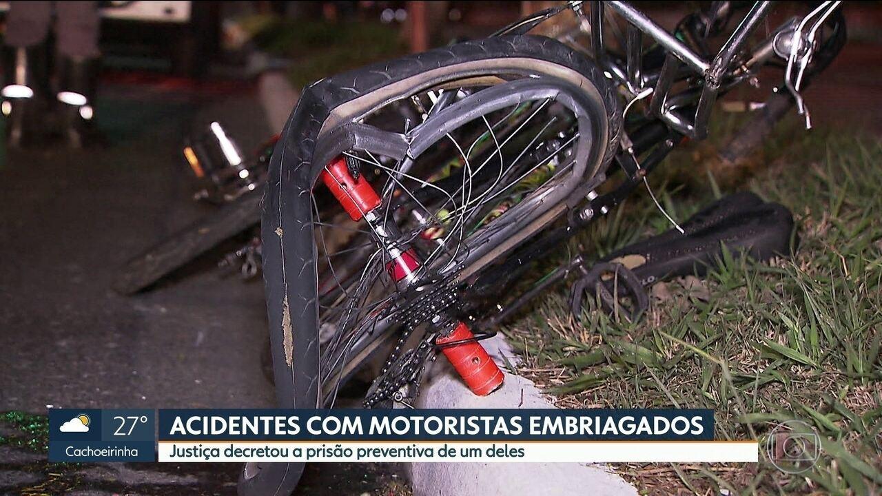Justiça decretou prisão preventiva de motorista que matou ciclista na zona sul