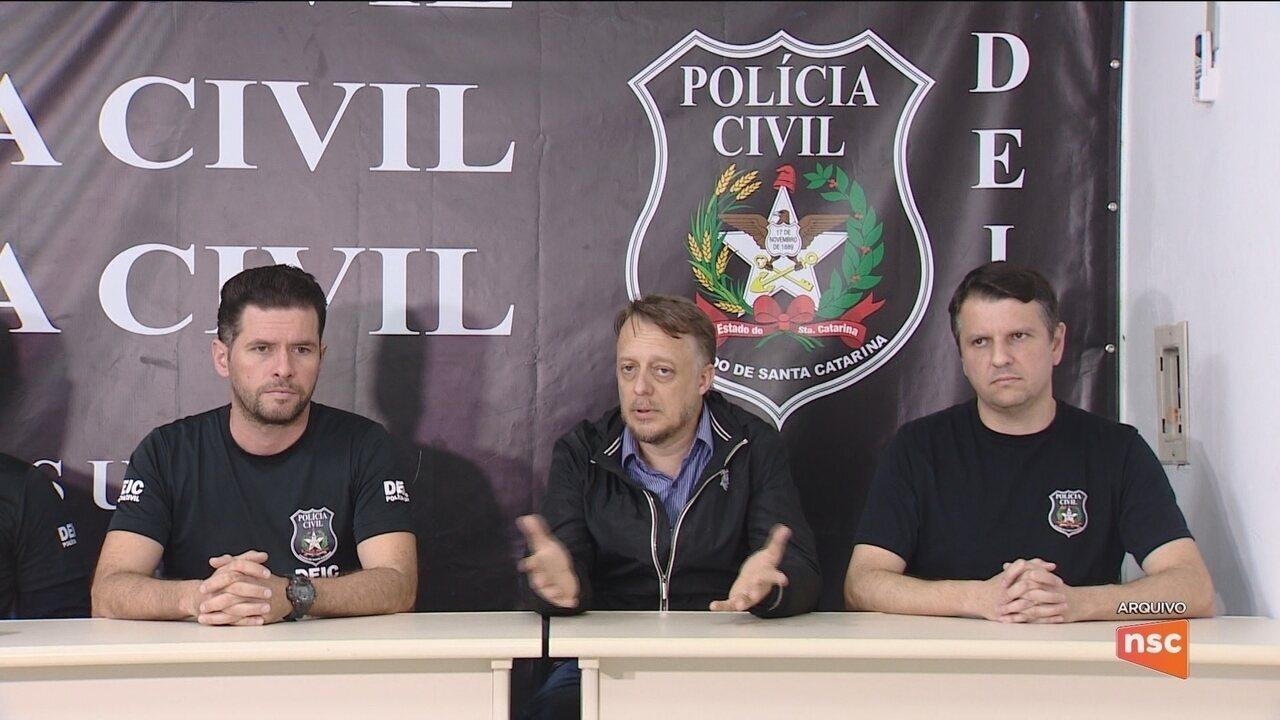 Operação prende nove pessoas por suspeita de desvio de recursos na saúde em cidades de SC