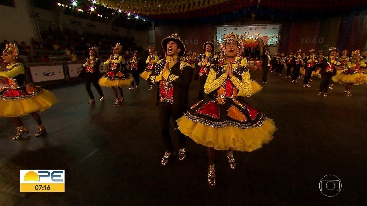 Quadrilhas participam de nova etapa de seletiva de festival da Rede Globo