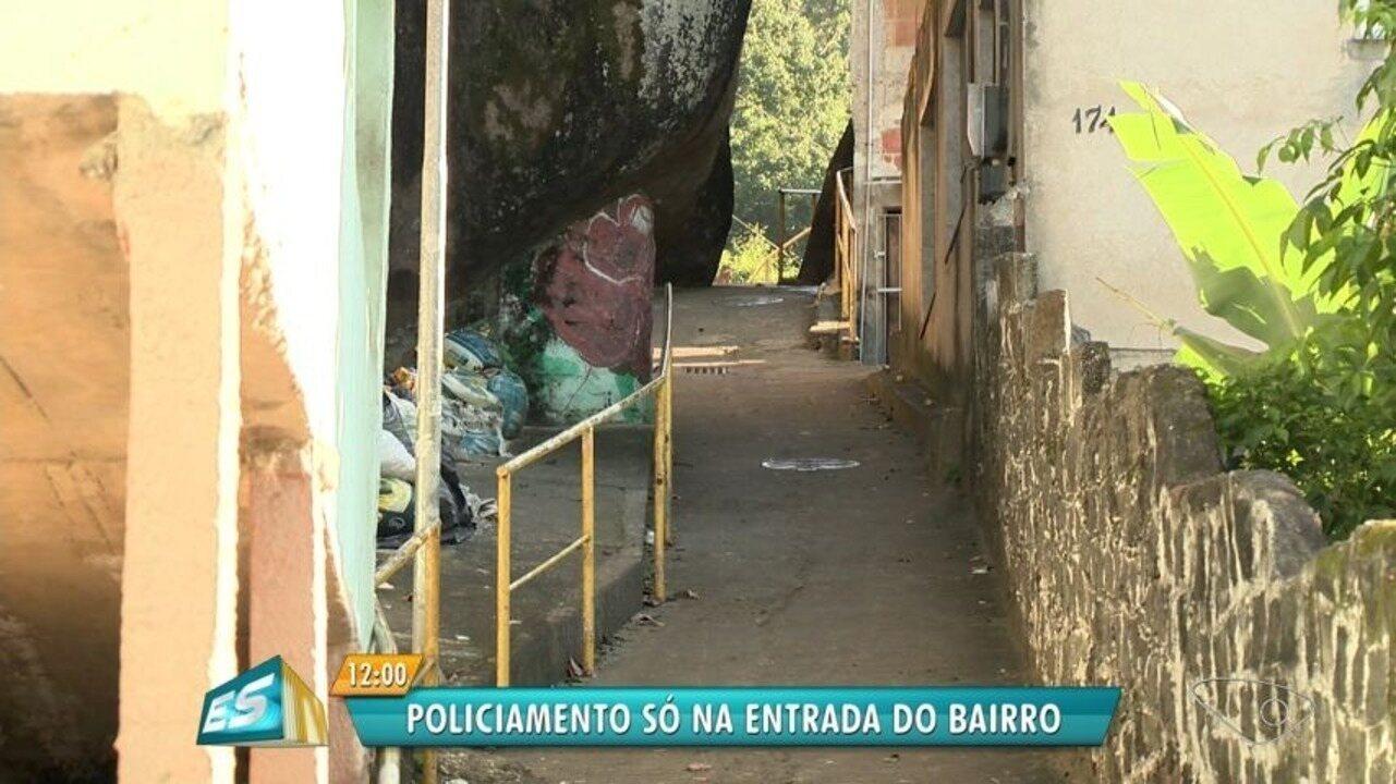 Secretário diz que base da PM será instalada no Morro da Piedade, em Vitória