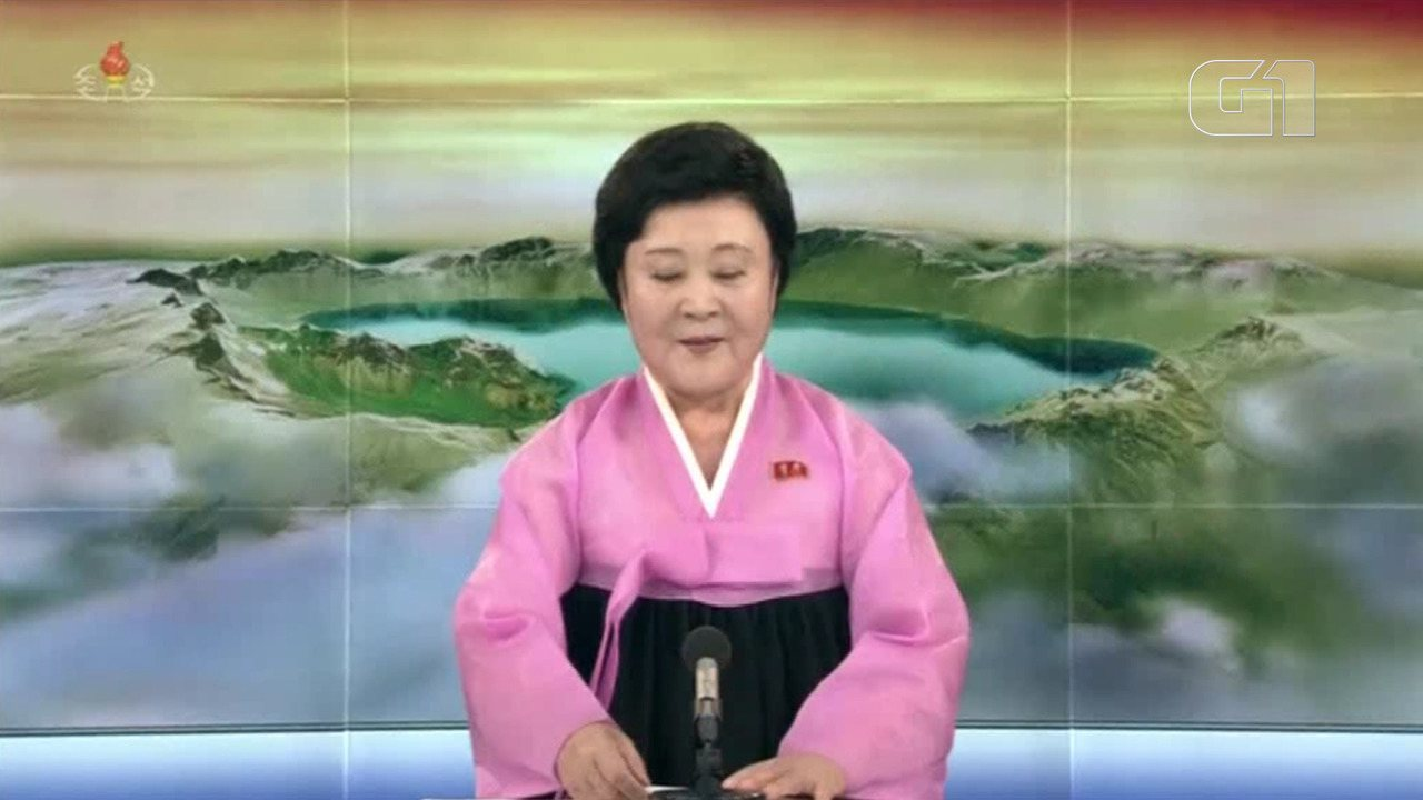 TV norte-coreana noticia cúpula de Trump e Kim