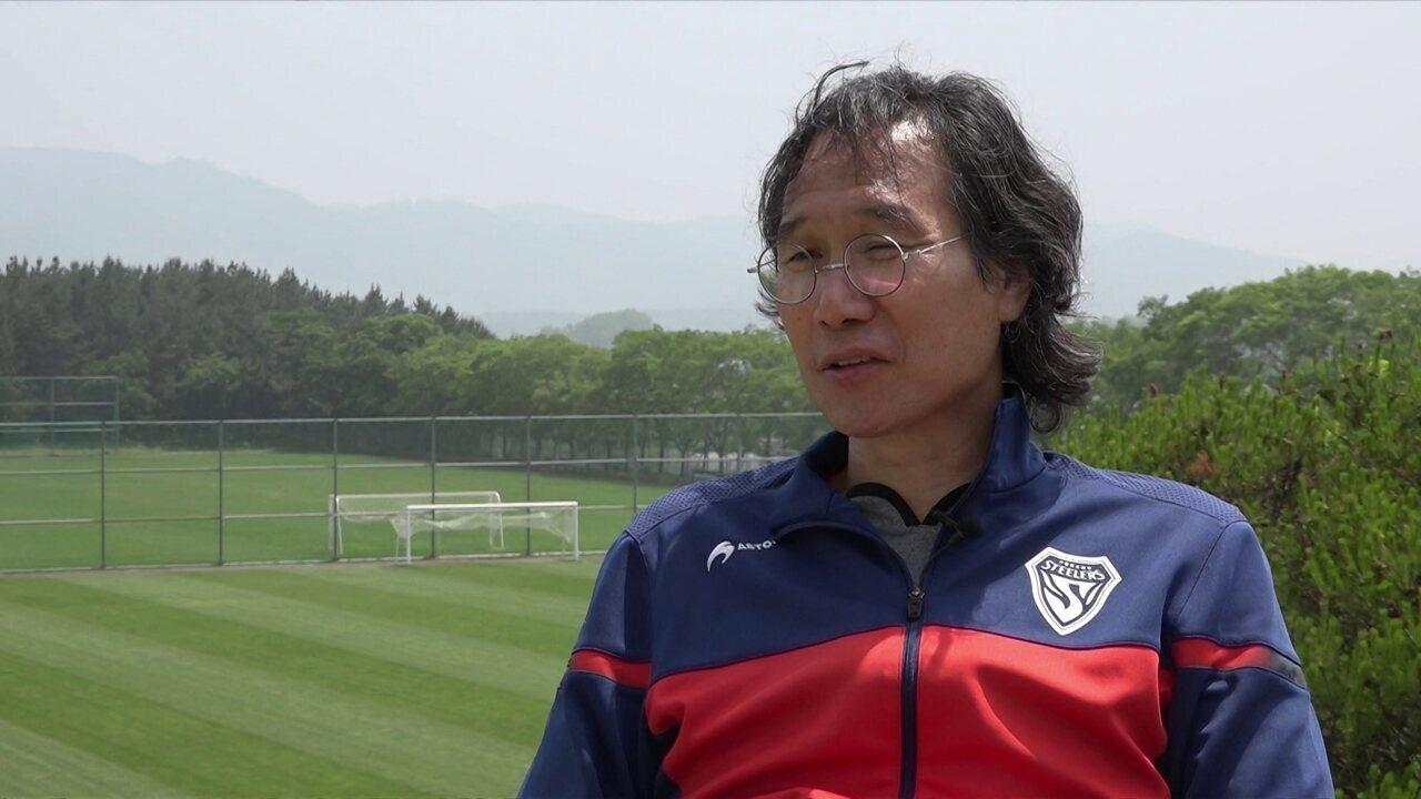 Pohang Steelers se inspira no futebol brasileiro para tentar dominar a Coréia do Sul