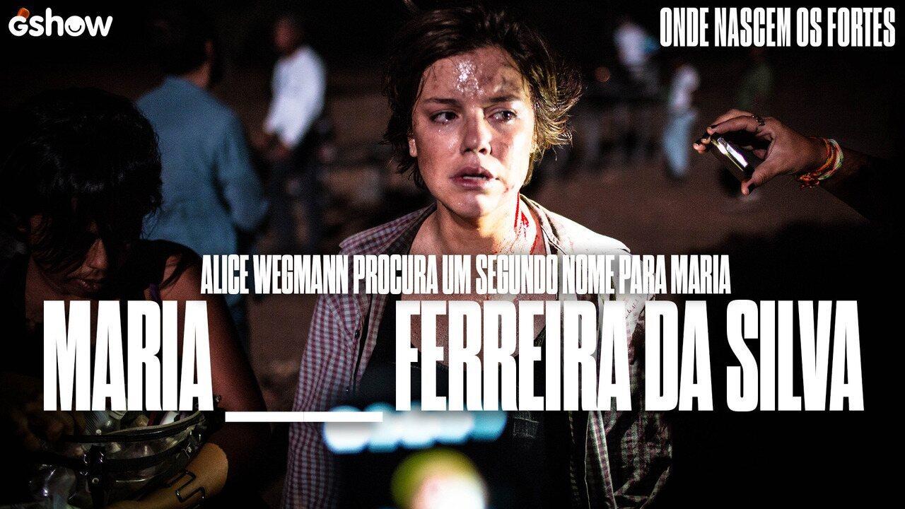 Alice Wegmann pergunta: Qual seria um bom segundo nome para Maria?