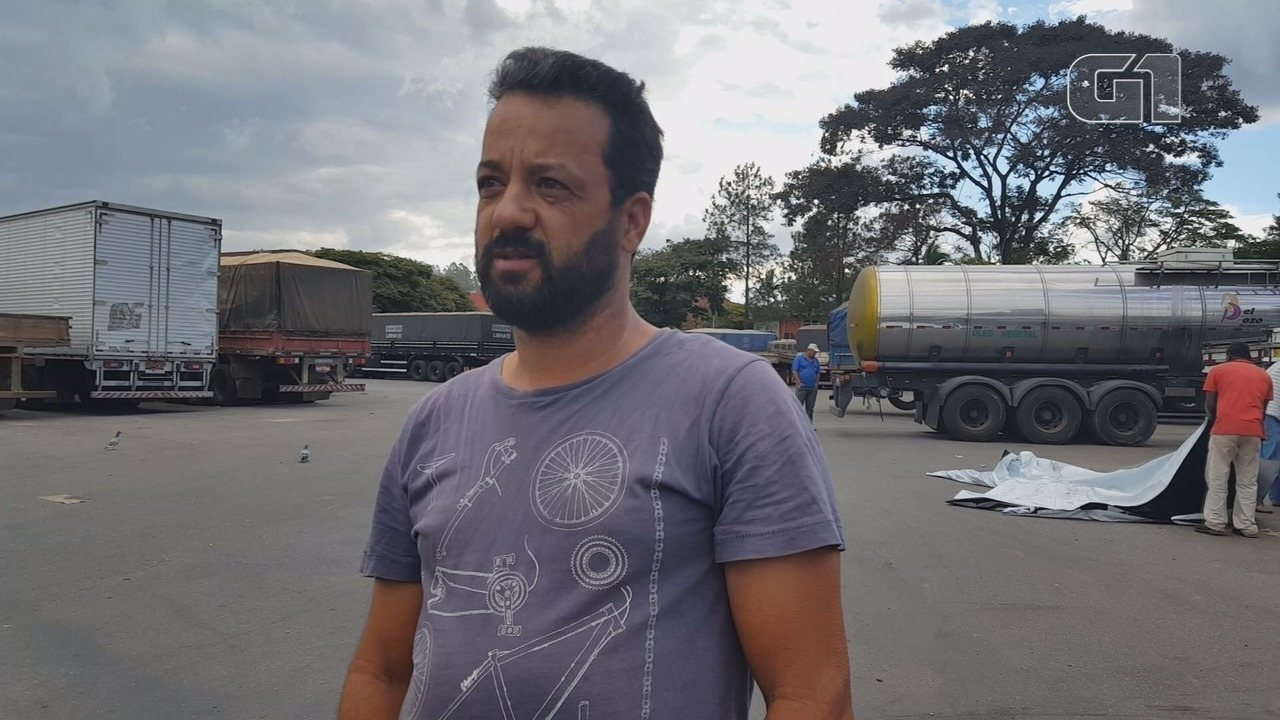 Caminhoneiro fala sobre insegurança em viagens na Rodovia Fernão Dias em MG