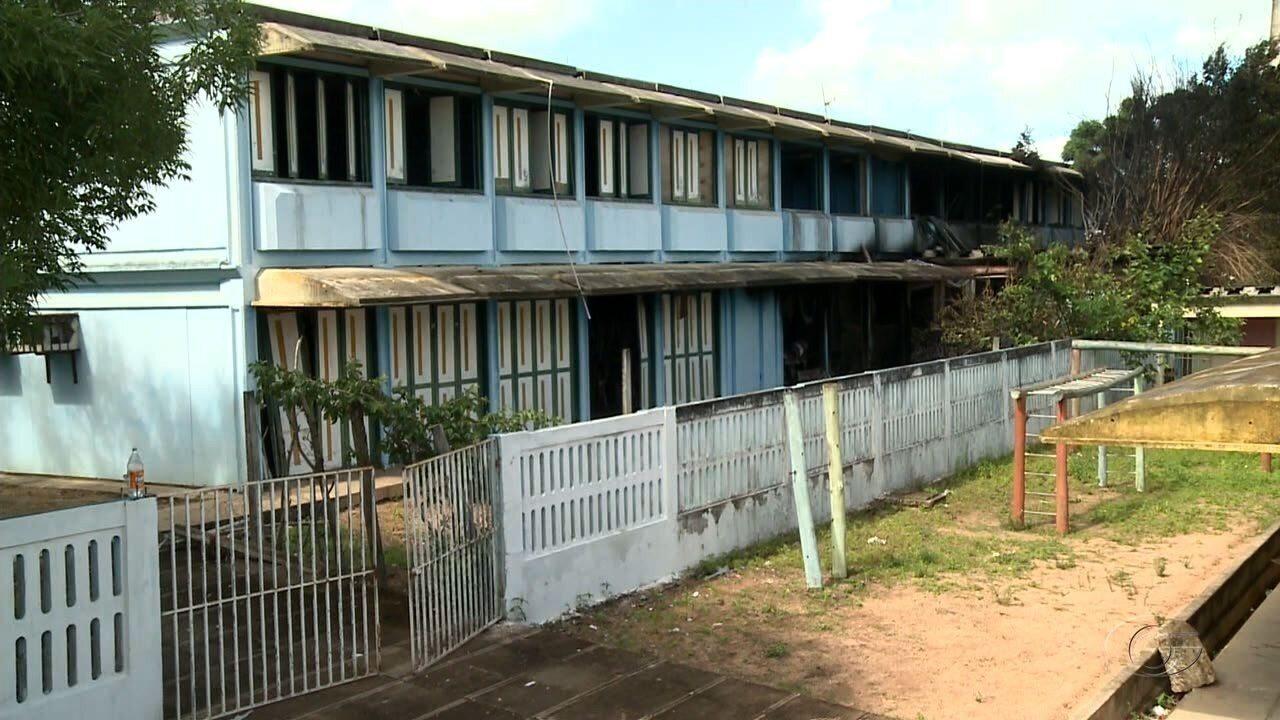 Polícia começa a investigar causas de incêndio em escola pública em Girau do Ponciano
