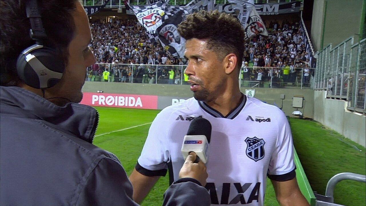 Naldo sobre a virada do Atlético-MG: