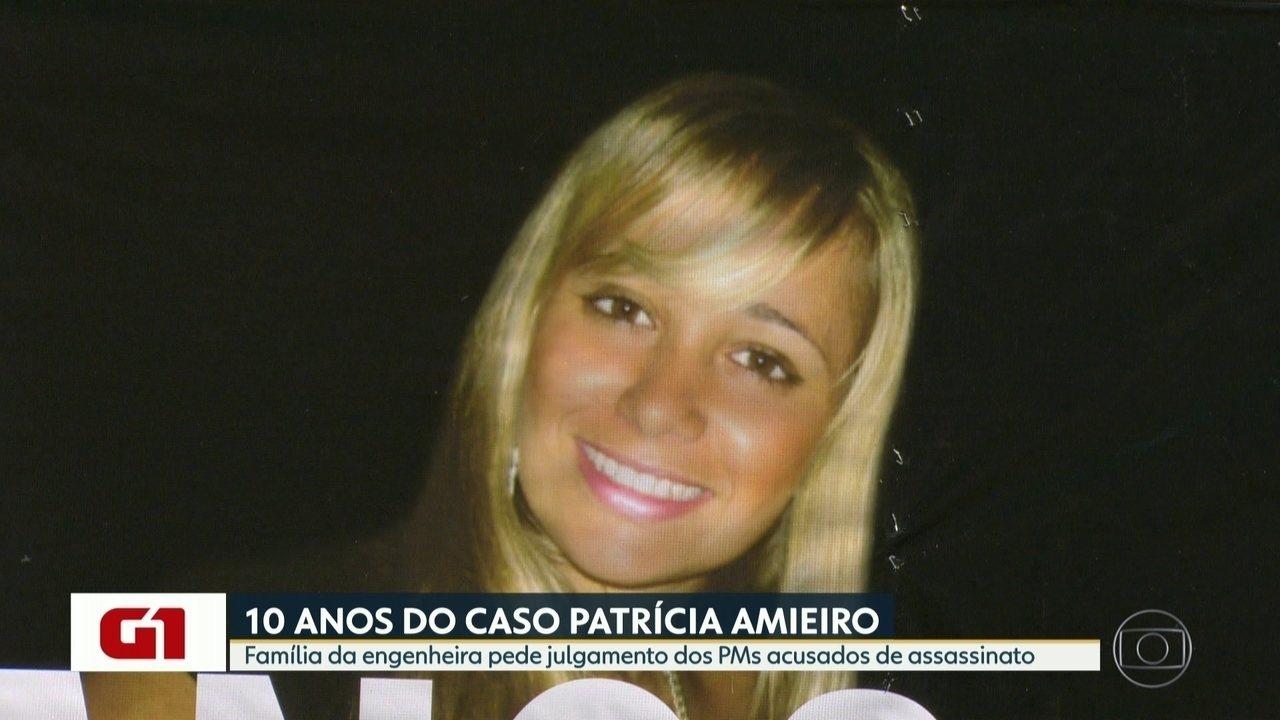 Família da engenheira pede julgamento dos PMs acusados de assassinato ocorrido há 10 anos