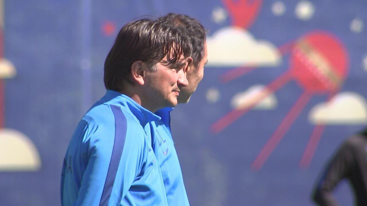 Seleção da Croácia se prepara para a estreia na Copa do Mundo