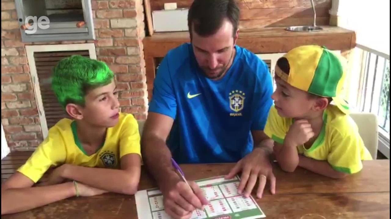 Atletas olímpicos participam de Bolão da Copa do Mundo