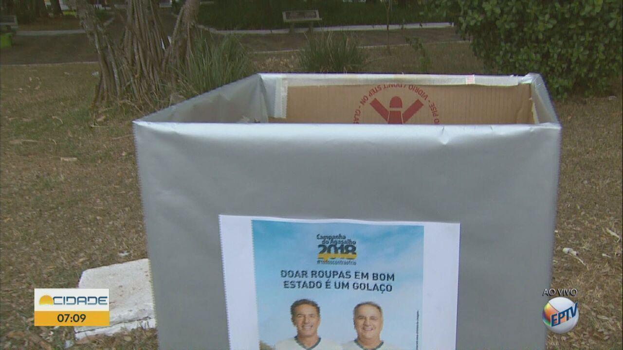 Campanha do agasalho: oito cidades da região fazem mutirão neste sábado