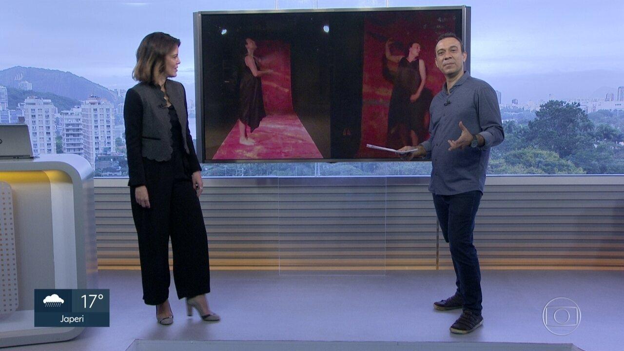 Fábio Júdice indica a estreia de um monólogo coreografado