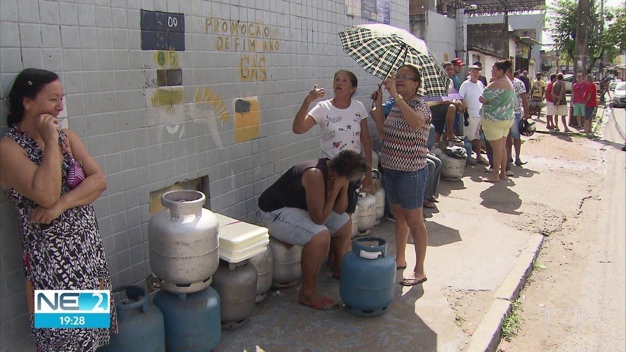 Falta de gás é tema de reunião no Ministério Público de Pernambuco