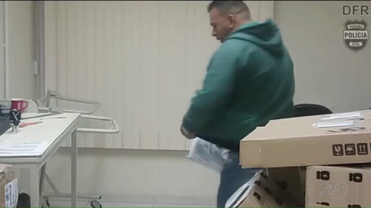 Polícia prende homem que teria furtado celulares dentro de uma franquia dos Correios
