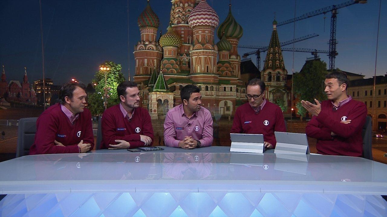 Comentaristas falam sobre o rodízio de capitães da seleção brasileira