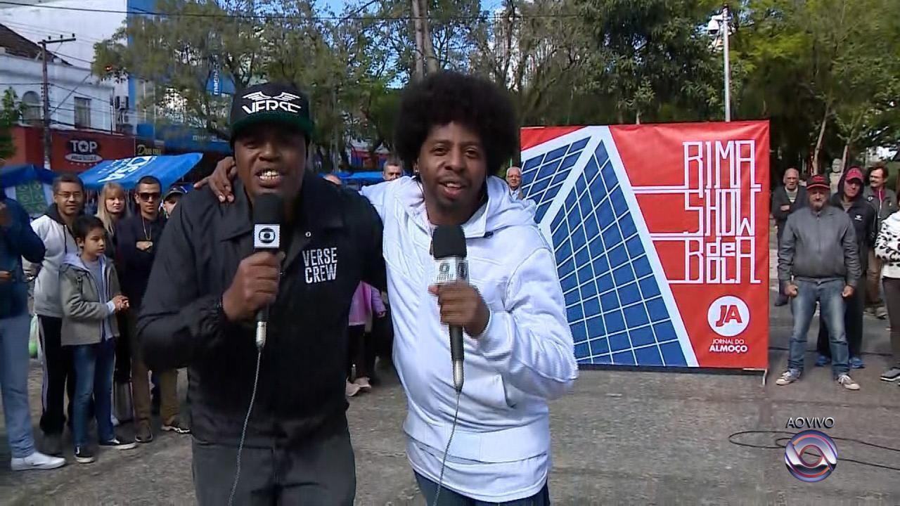Rima Show de Bola: Jornal do Almoço realiza competição no clima do Mundial
