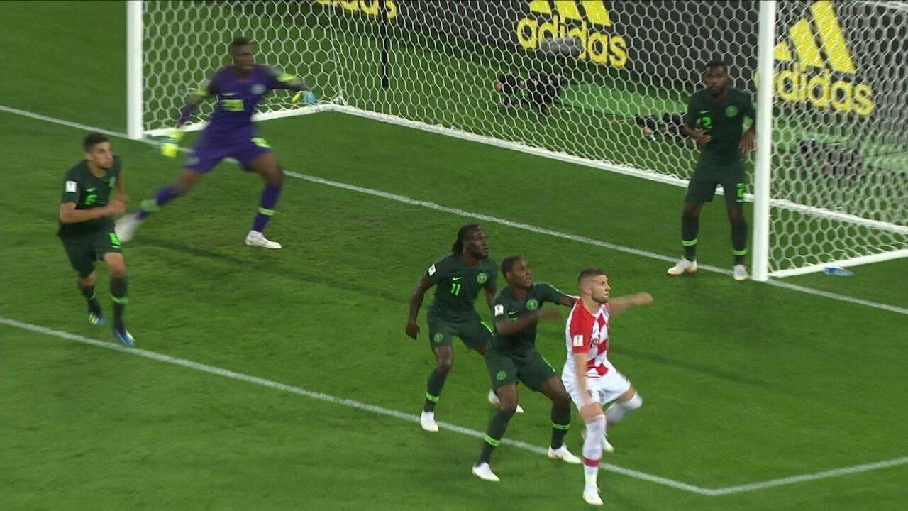 Melhores momentos de Croácia 2 x 0 Nigéria pela 1ª fase da Copa do Mundo