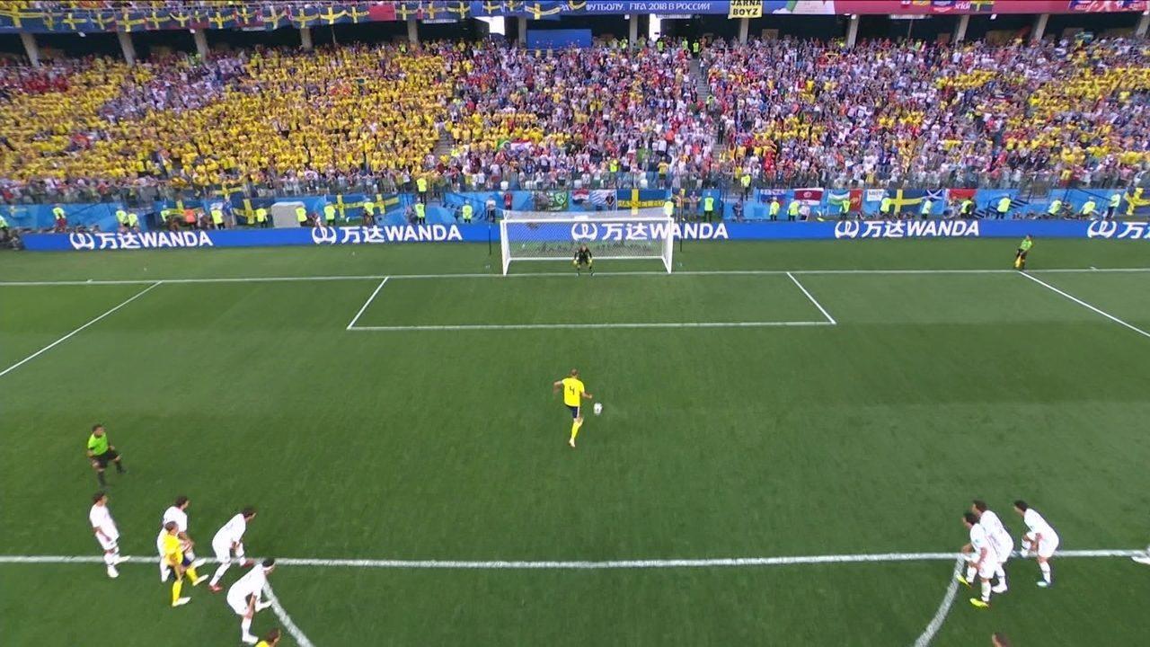 Os melhores momentos de Suécia 1 x 0 Coreia do Sul pela Copa do Mundo 2018