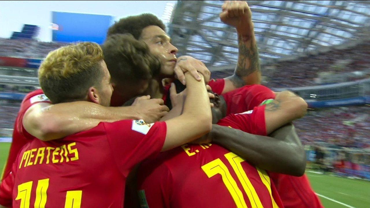 Gol da Bélgica! Lukaku dá toque por cima de Penedo para ampliar aos 29 do 12º