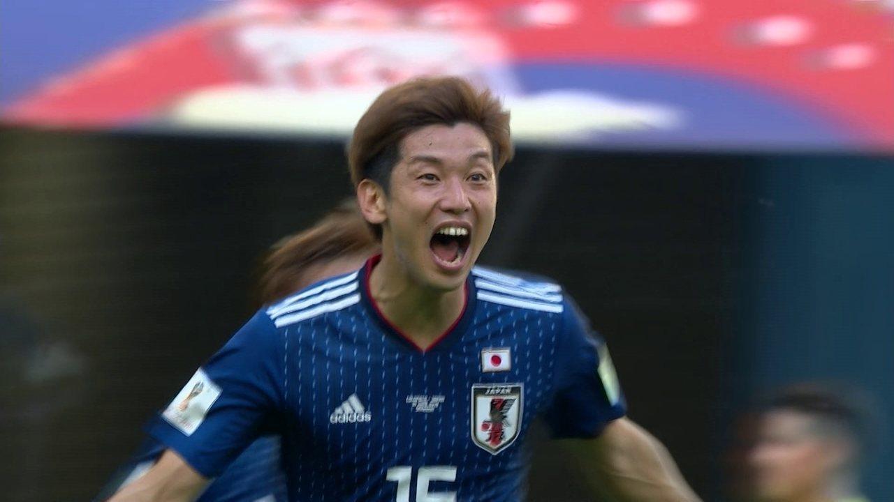 Os gols de Colômbia 1 x 2 Japão pela 1ª rodada da Copa do Mundo