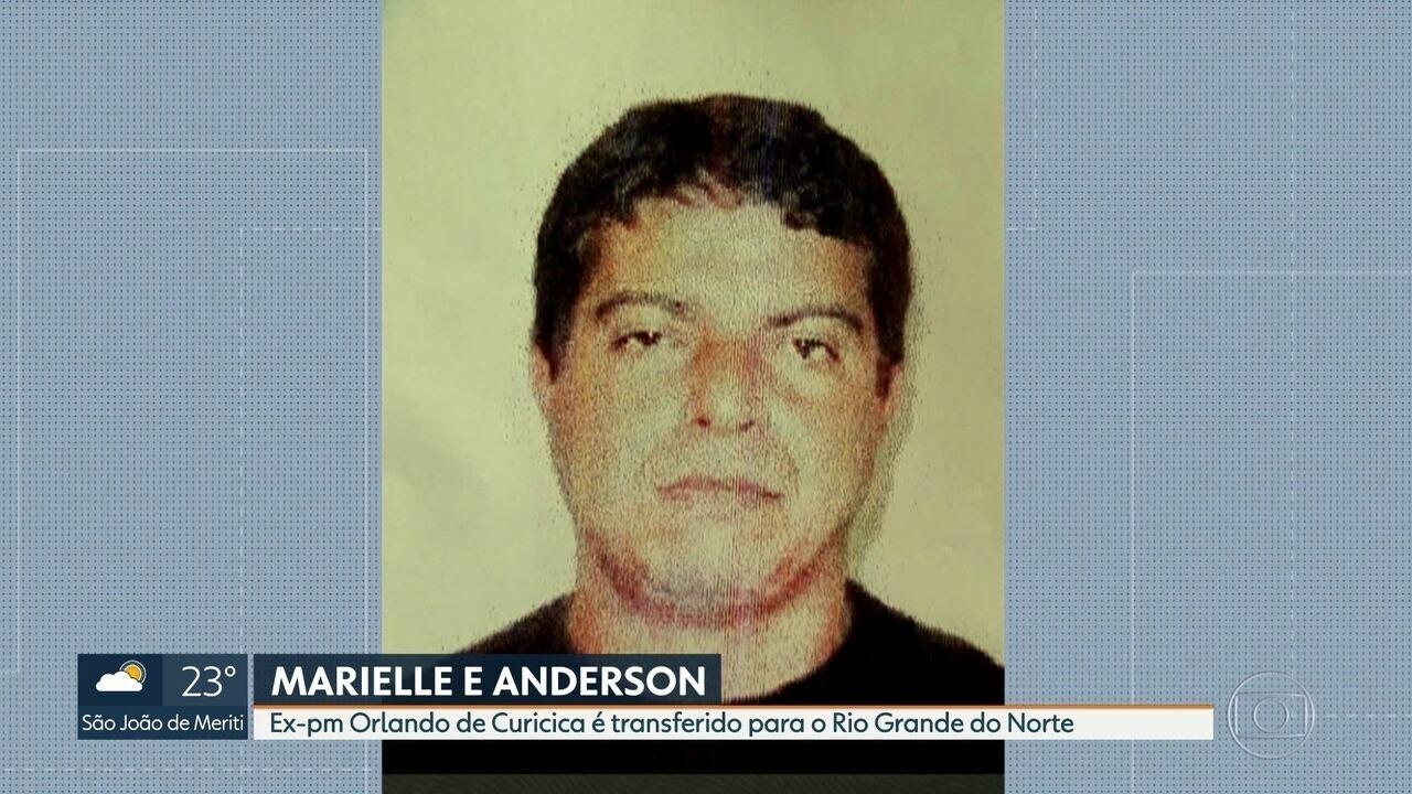 Ex-pm Orlando Oliveira de Araújo é transferido para presídio no Rio Grande do Norte