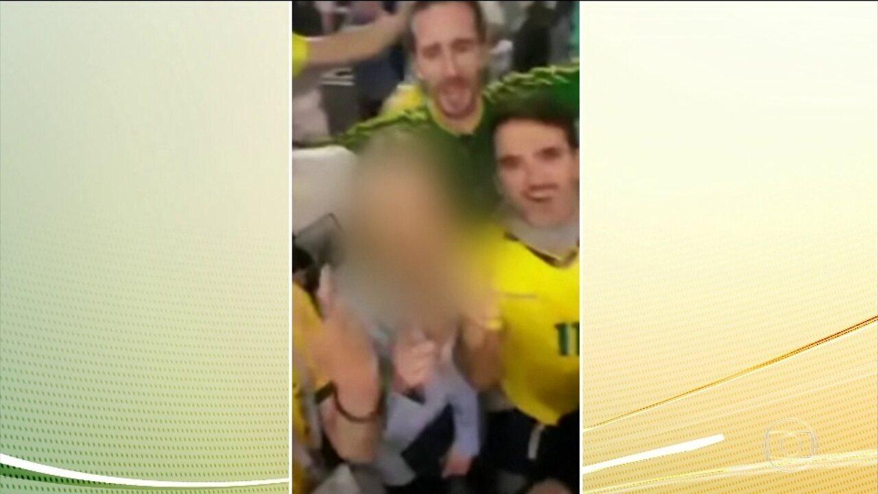 Atitude desrespeitosa de torcedores brasileiros na Rússia causa indignação e protestos